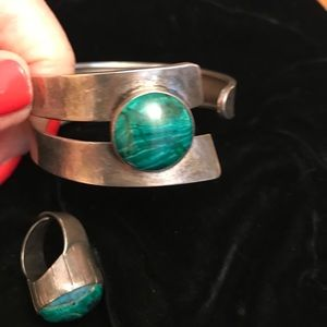 BRACELET AND MATCHING RING.